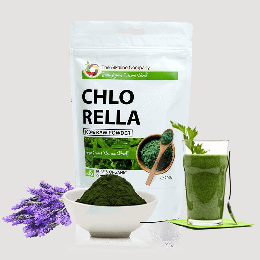 chlorella alga fogyás
