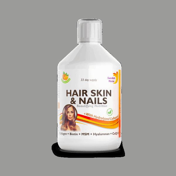 Swedish Nutra Hair Skin Nails vitamin