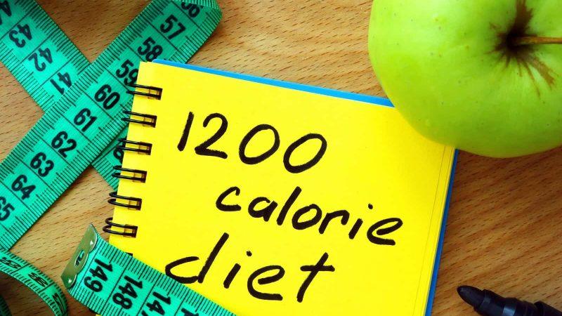 1200 kalórií denne
