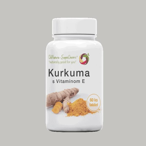 Kurkuma tablety