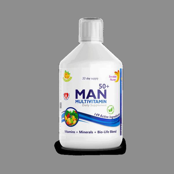 Man 50+ multivitamin