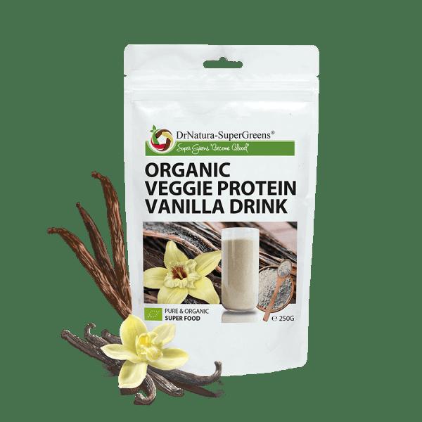 Bio vanilkový bielkovinový prášok