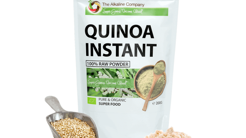 bio quinoa prášok