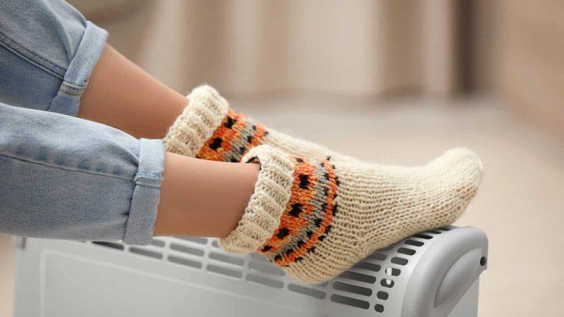 studené nohy