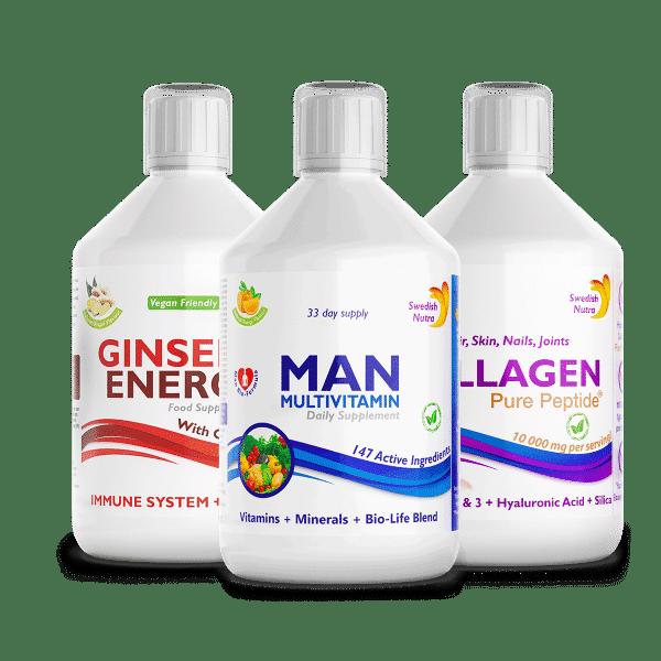 sada plná energie pre mužov